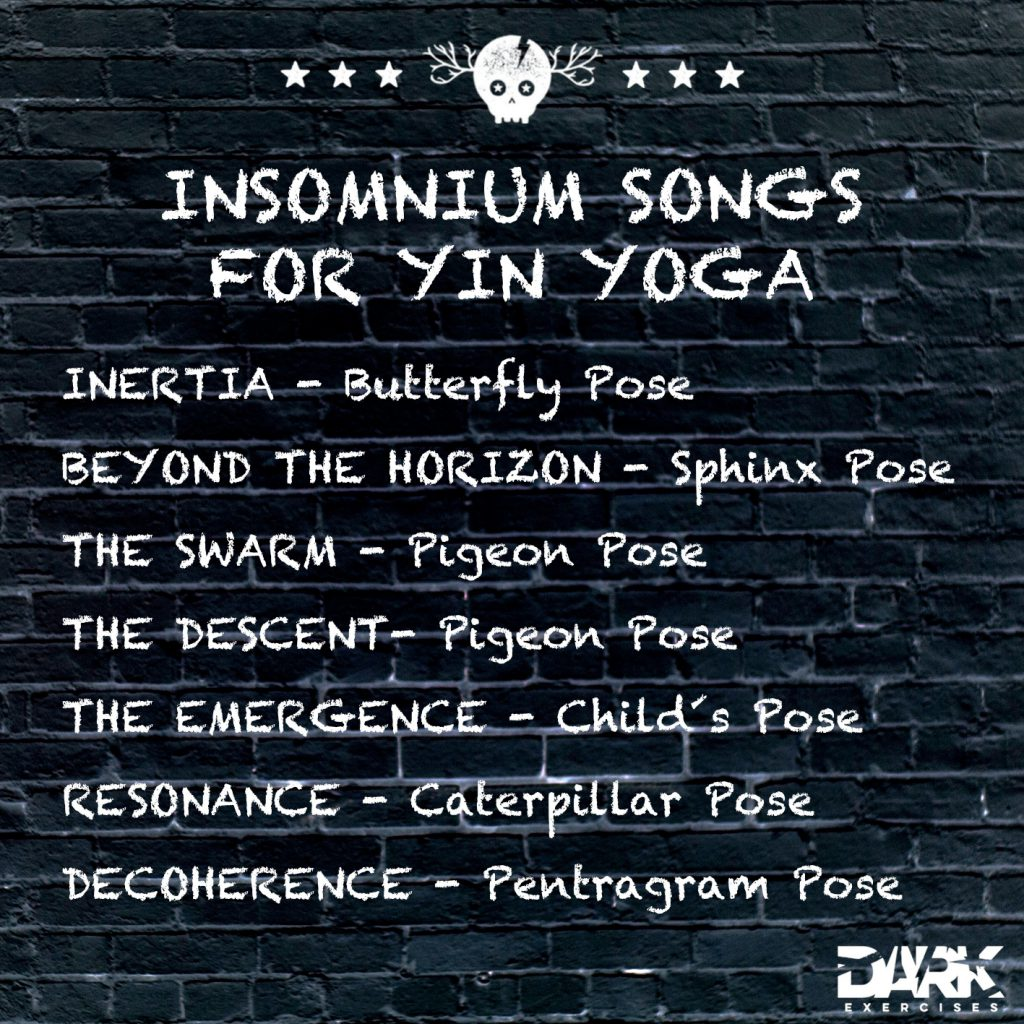 Playlist INSOMNIUM SONGS FOR YIN YOGA