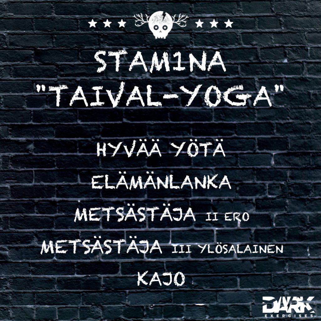 "Playlist Stam1na ""Taival-Yoga"""