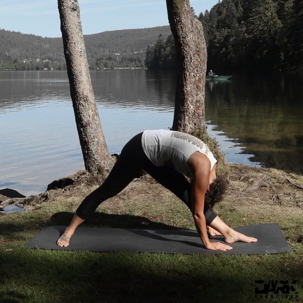 Taival-Yoga intensive seitliche Dehnung  Parsvottanasana