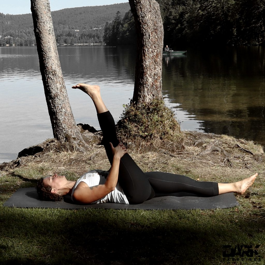 Taival-Yoga Stretches - Leg to head