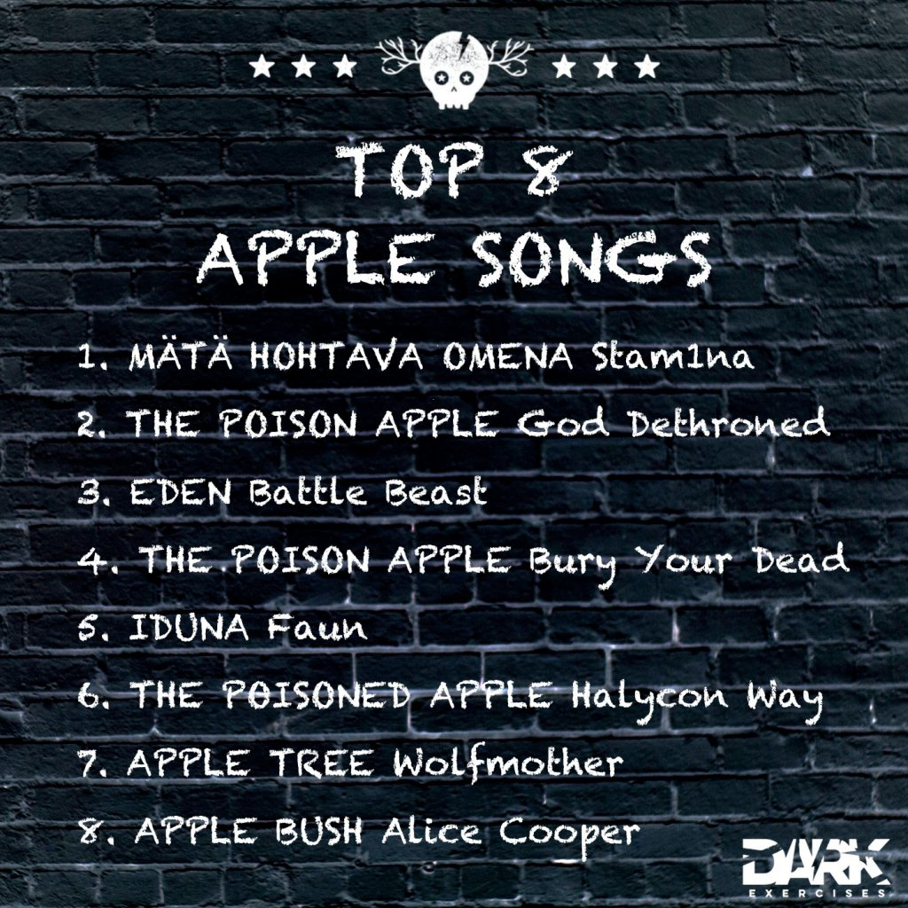 Playlist TOP 8 APPLE SONGS
