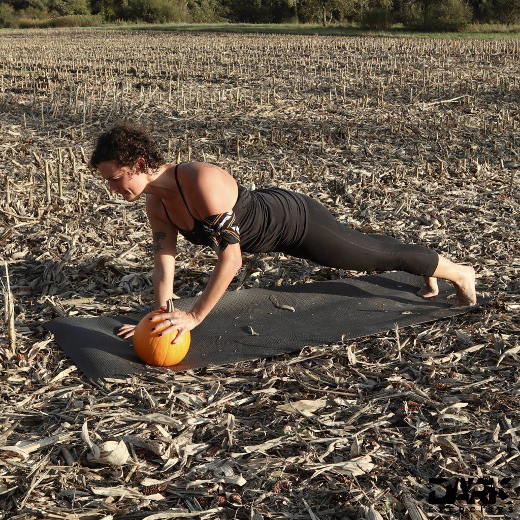 One Pumpkin Push Up