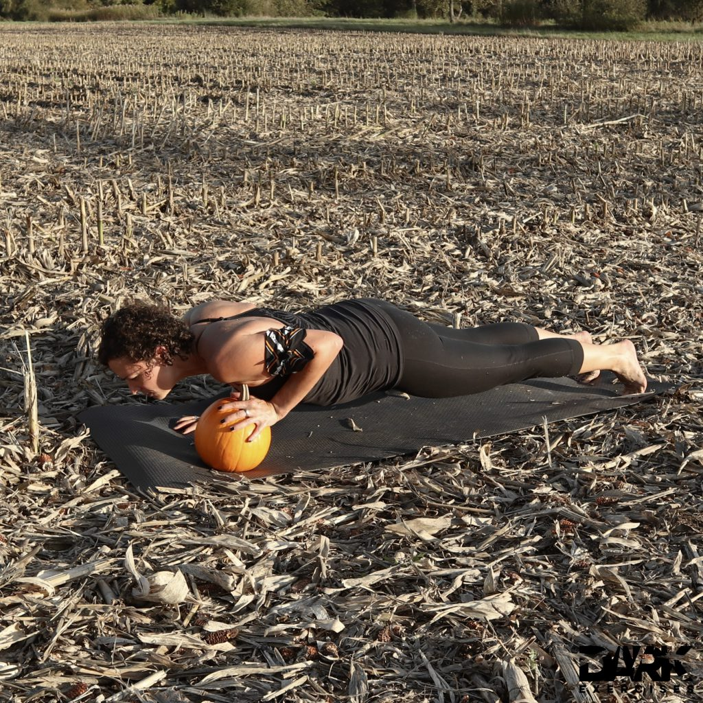 One Pumpkin Push Up