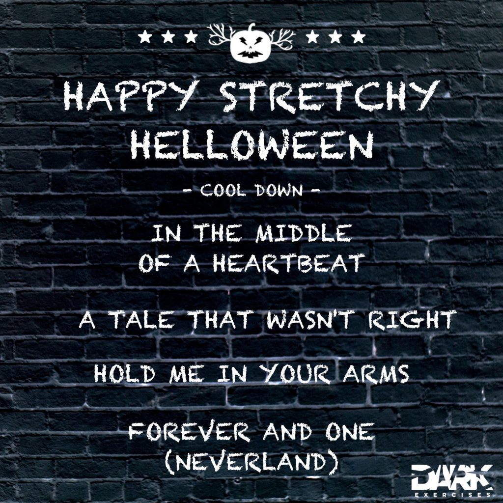 Playlist HAPPY STRETCHY HELLOWEEN