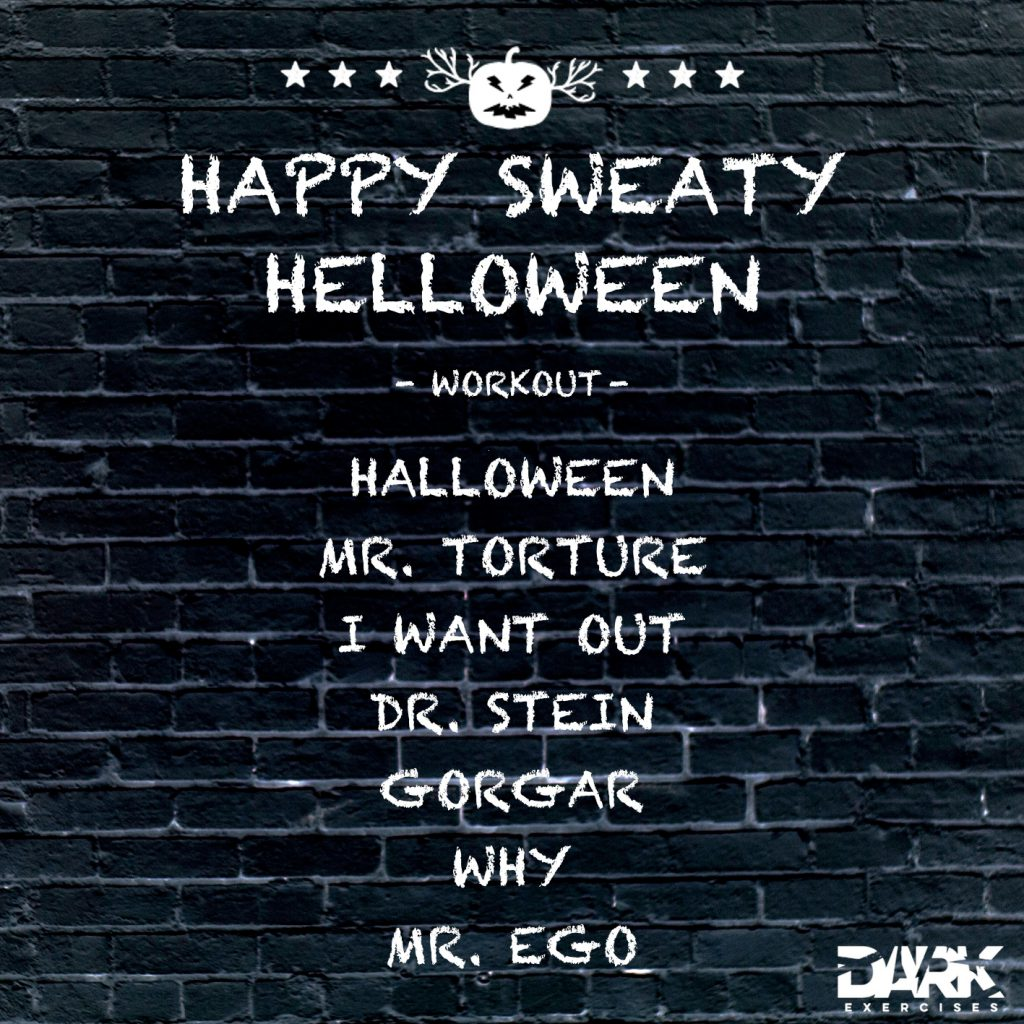 Playlist HAPPY SWEATY HELLOWEEN