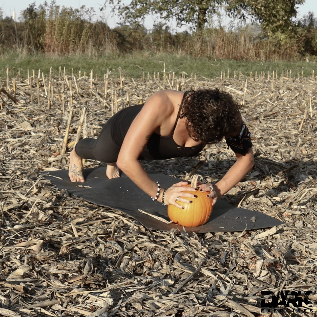 Pumpkin Push Ups
