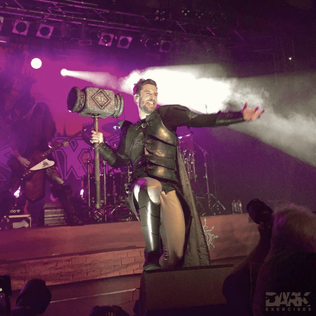 Hormones - The Masters of the Galaxy - Gloryhammer - Angus McFife
