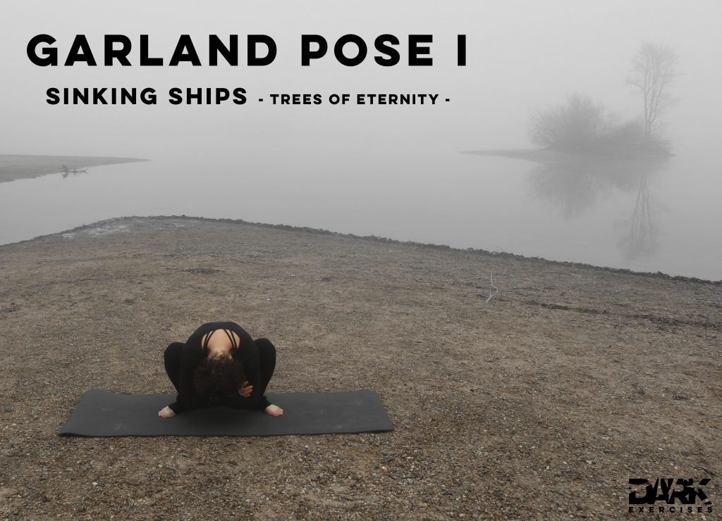 Yin Yoga to Release - Garland Pose I - Sinking Ships - Trees of Eternity