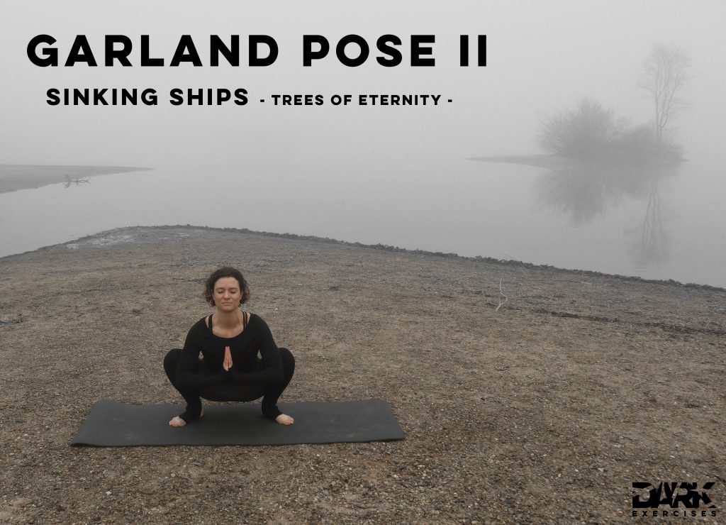 Yin Yoga to Release - Garland Pose II - Sinking Ships - Trees of Eternity