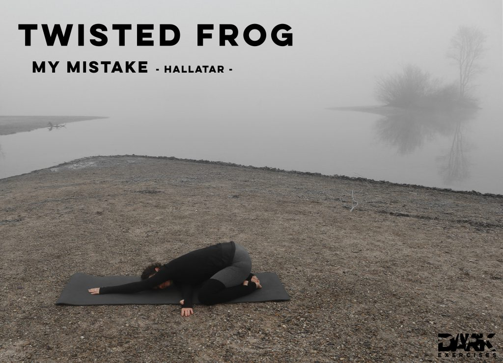 Yin Yoga to Release - Twisted Frog - My Mistake - Hallatar