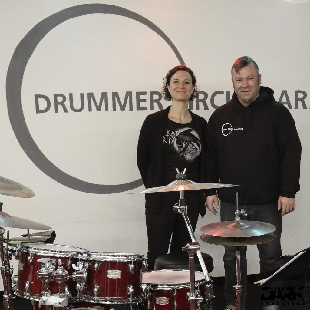 Tactfulness : Björn Etzel, Drummer Circle Karlsruhe