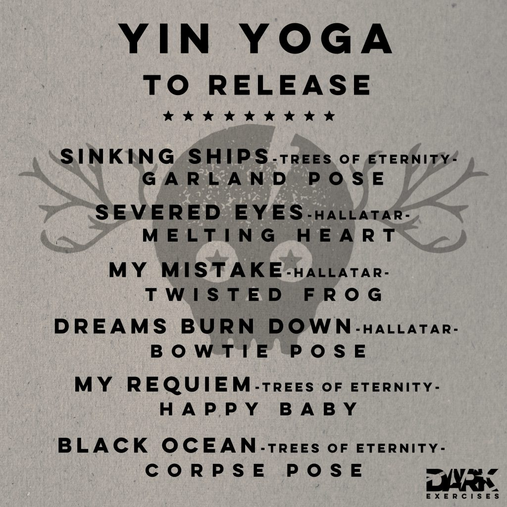 Yin Yoga to Release Playlist - Hallatar & Trees of Eternity
