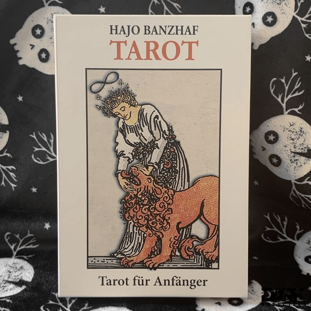 Tarot cards box - communication with fate