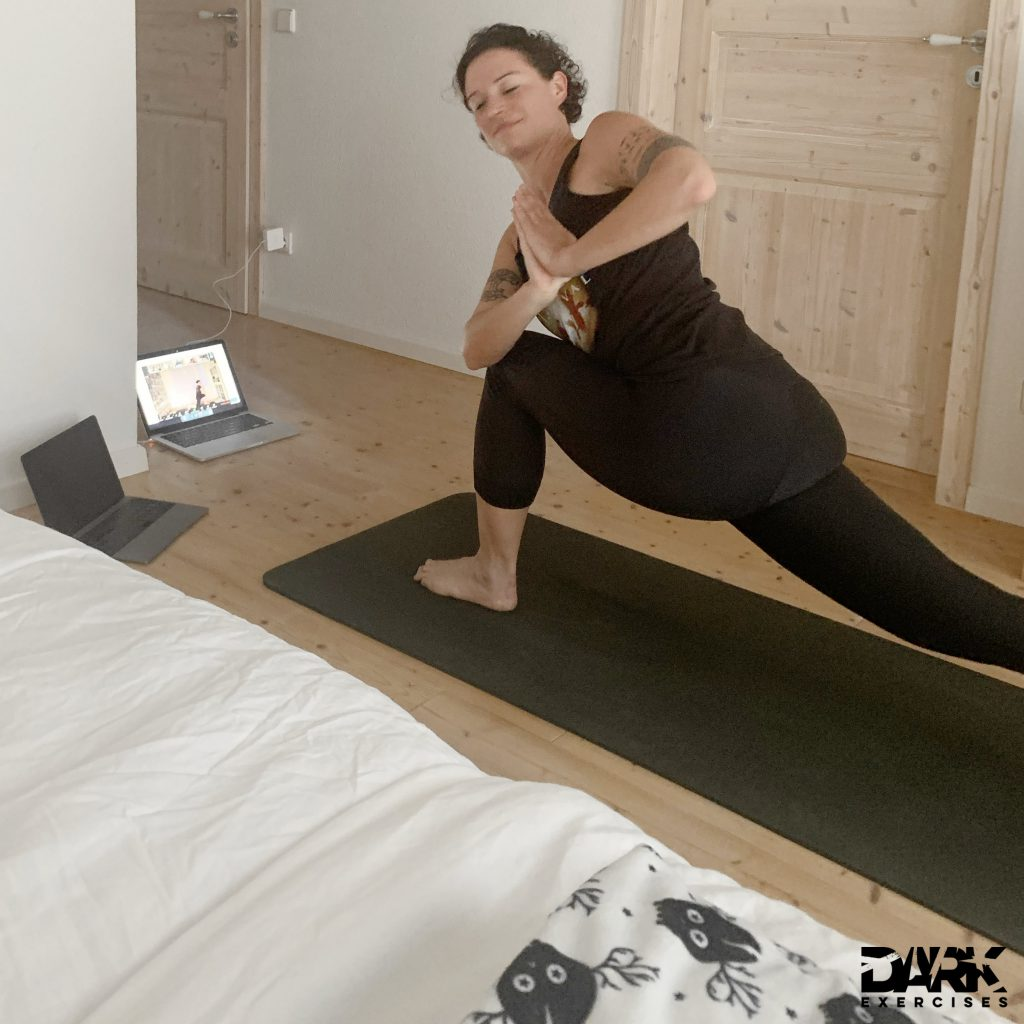 Opportunity of the Black Swan : Online Metal Yoga