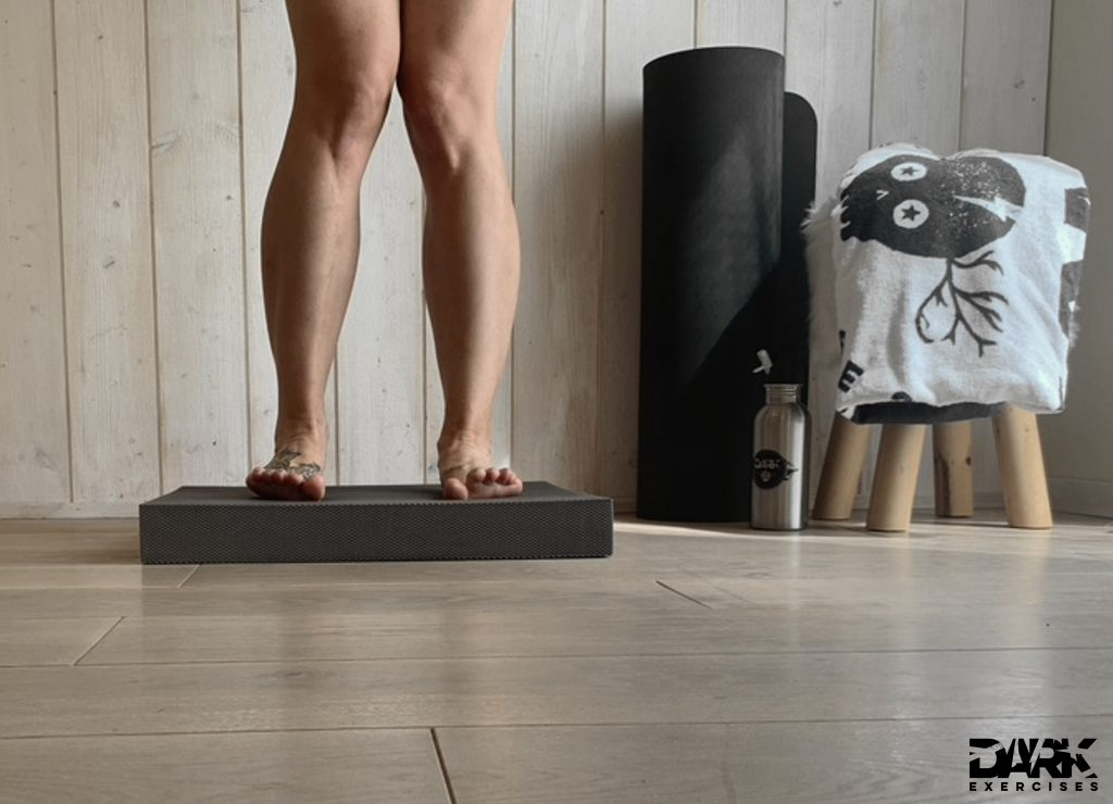 Balance-Pad EXERCISES : Fuß-ABC