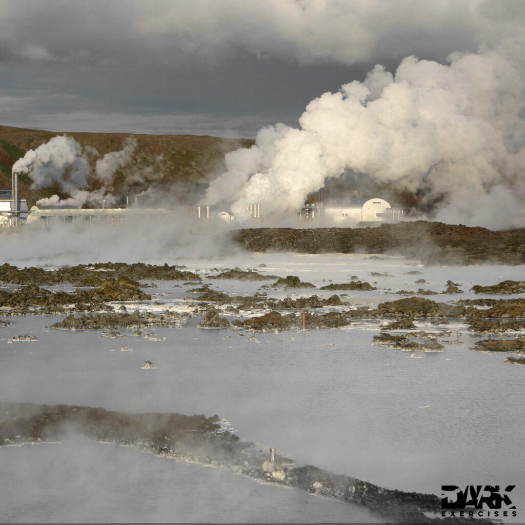 Svartsengi on Iceland