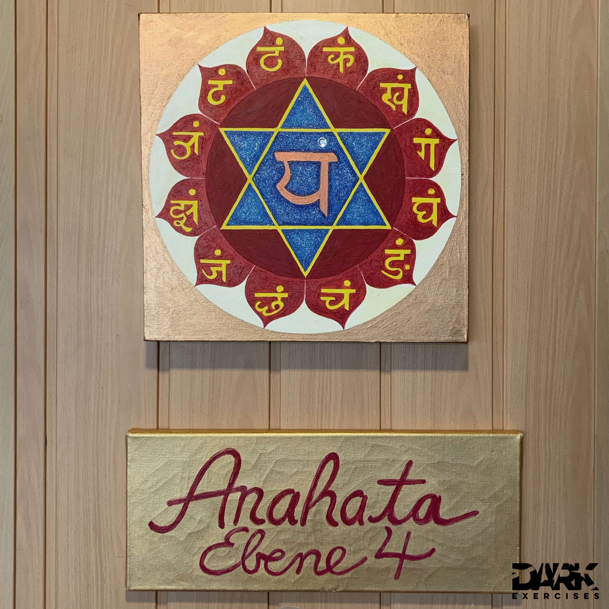 The Anahata floor, the fourth floor of the chakra pyramid, my domicile during the training
