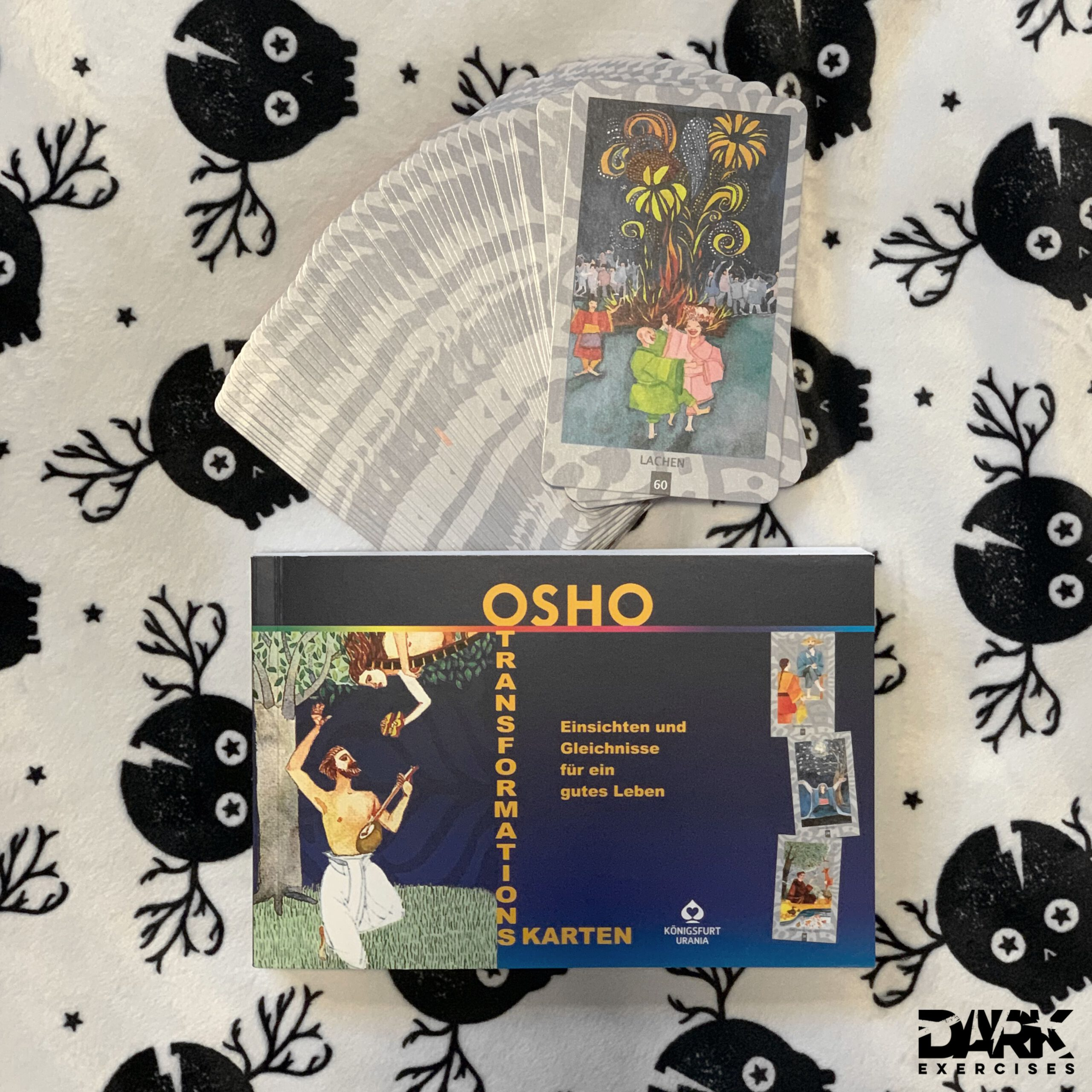 The story of laughter and many more stories can be found in the OSHO Transformation Card Box