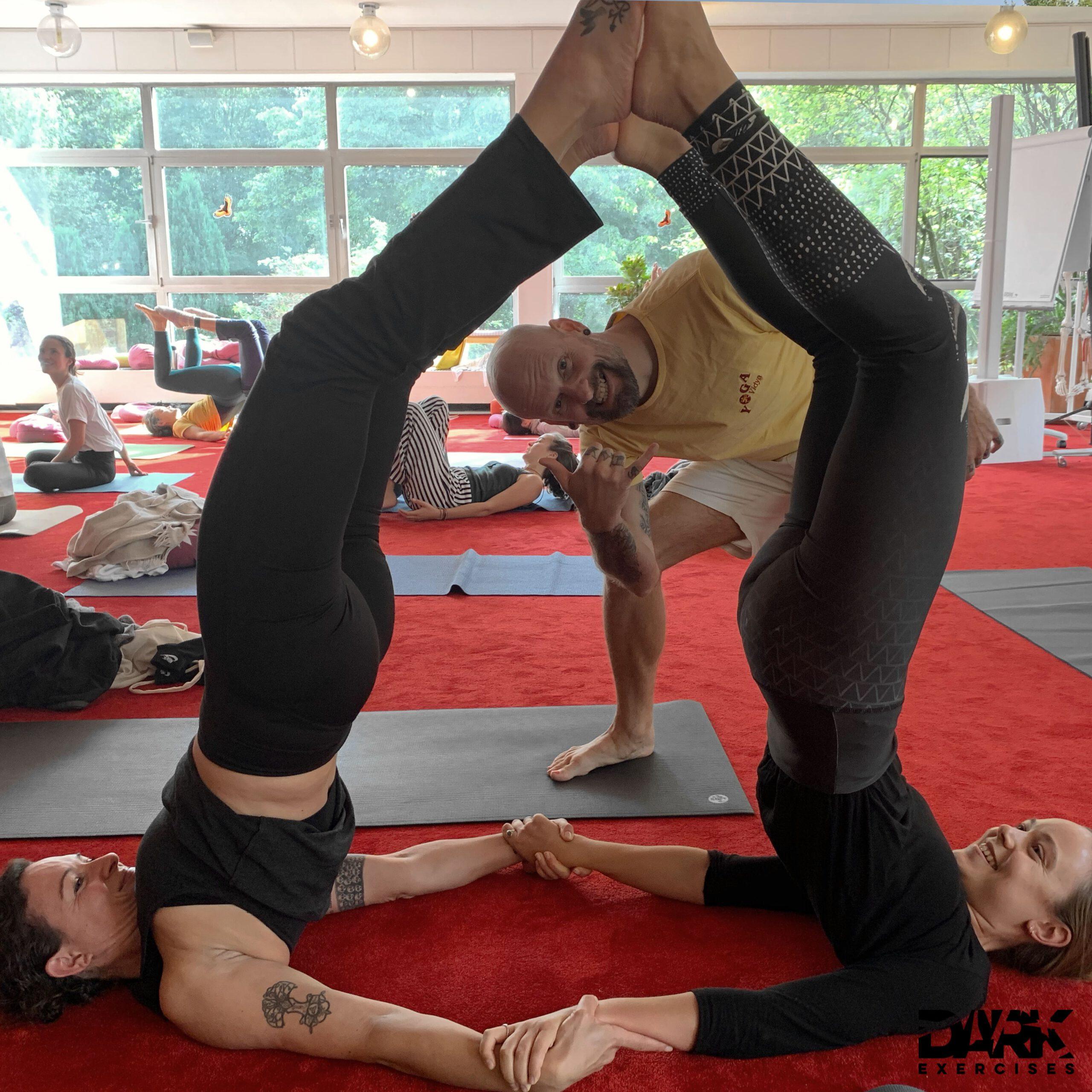 Yoga partner exercises