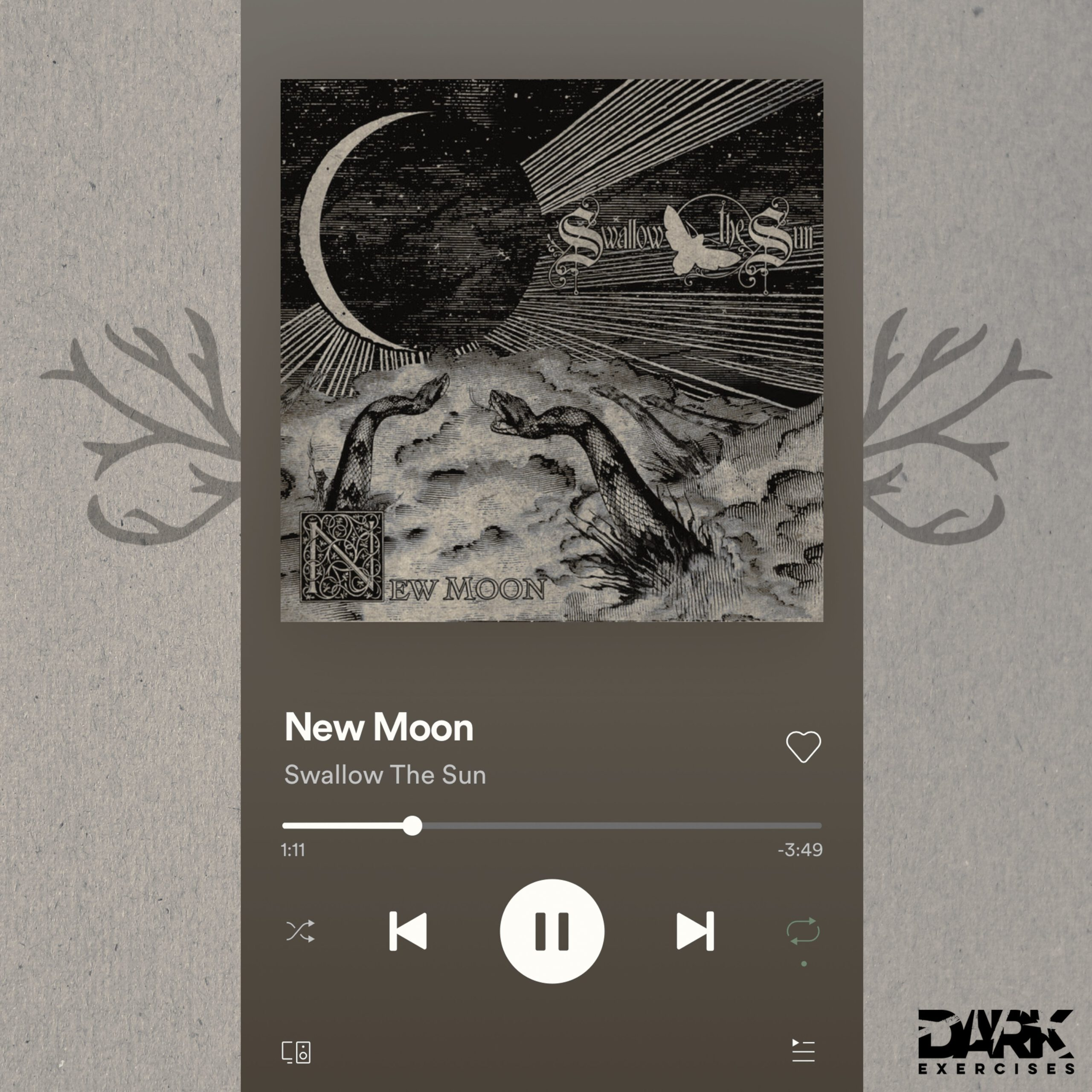 Song New Moon - Swallow the Sun