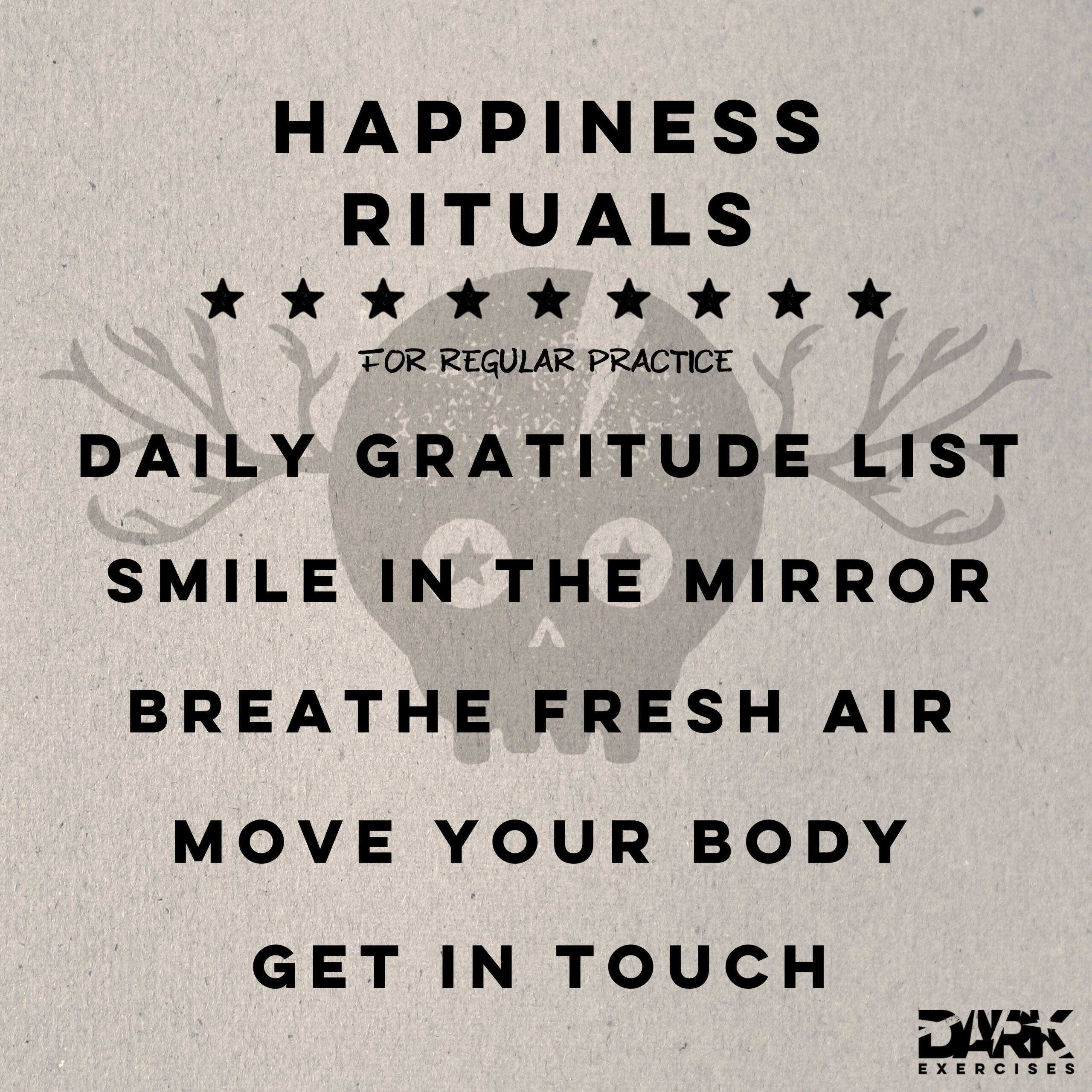 Happiness Rituals
