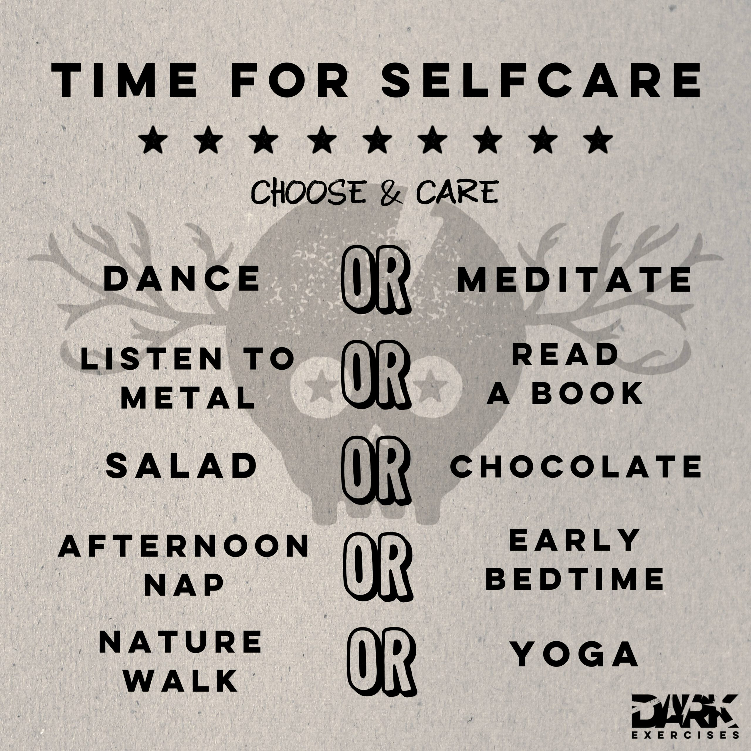 Happiness - Time for Selfcare