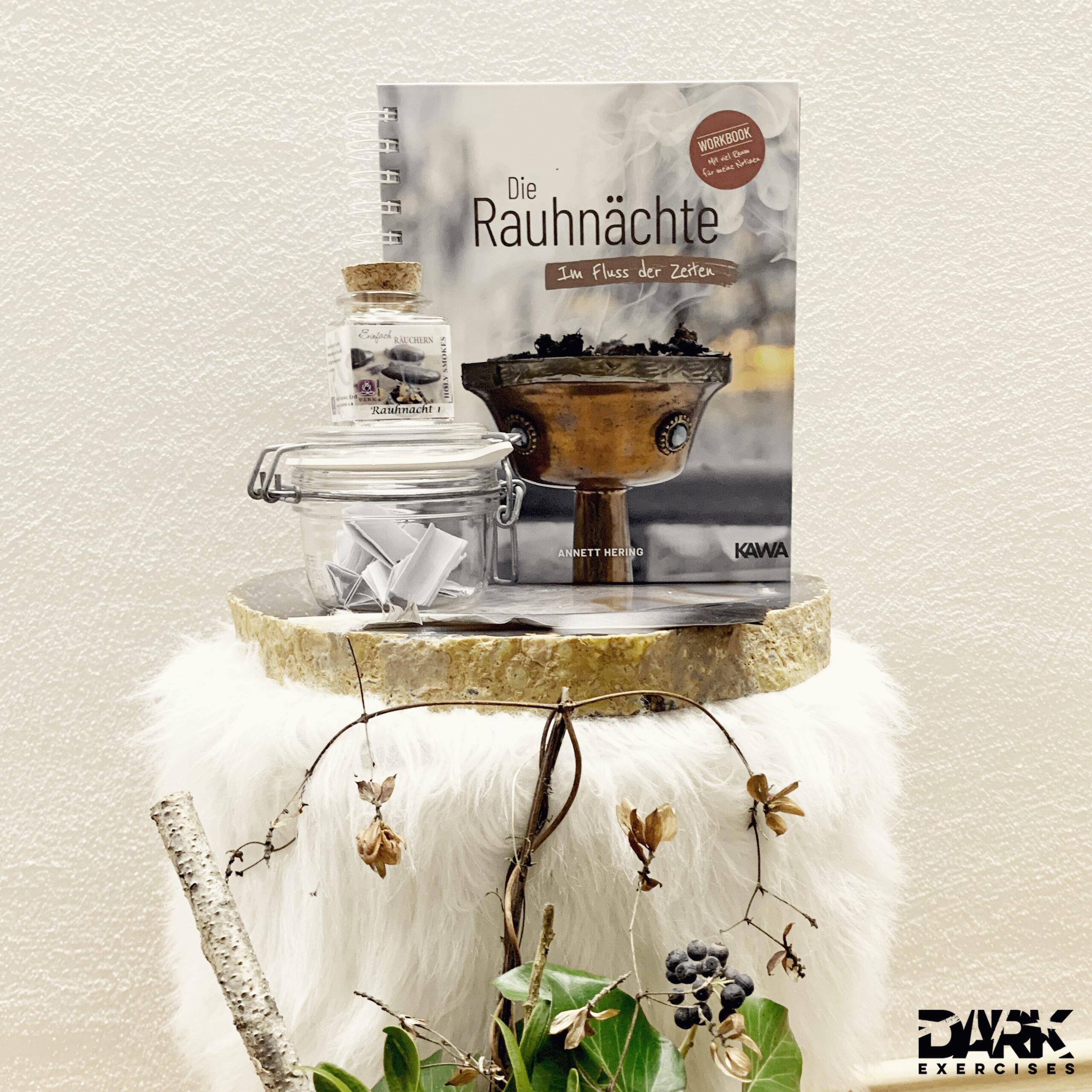 """""""Mein Herz brennt"""" - magic of the """"Rauhnächte"""" Workbook"""