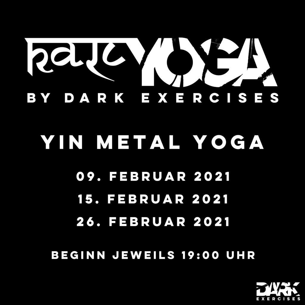 Playlist YIN METAL YOGA Kālī Metal Yoga : Dark Yin