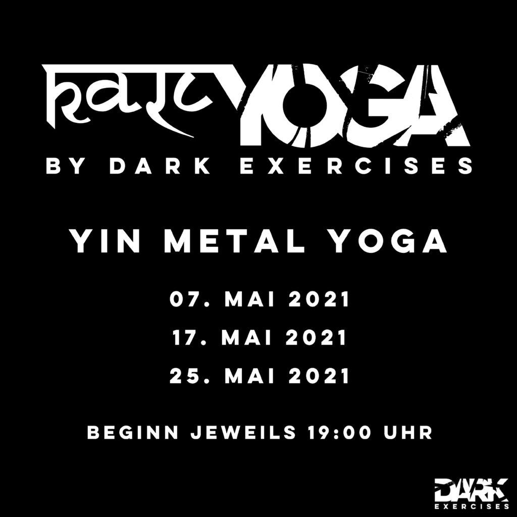 Kali Metal Yin Yoga Playlist