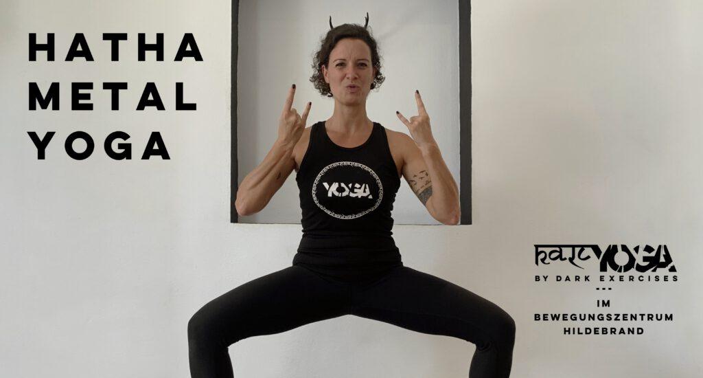 kali yoga by dark exercises hatha metal yoga